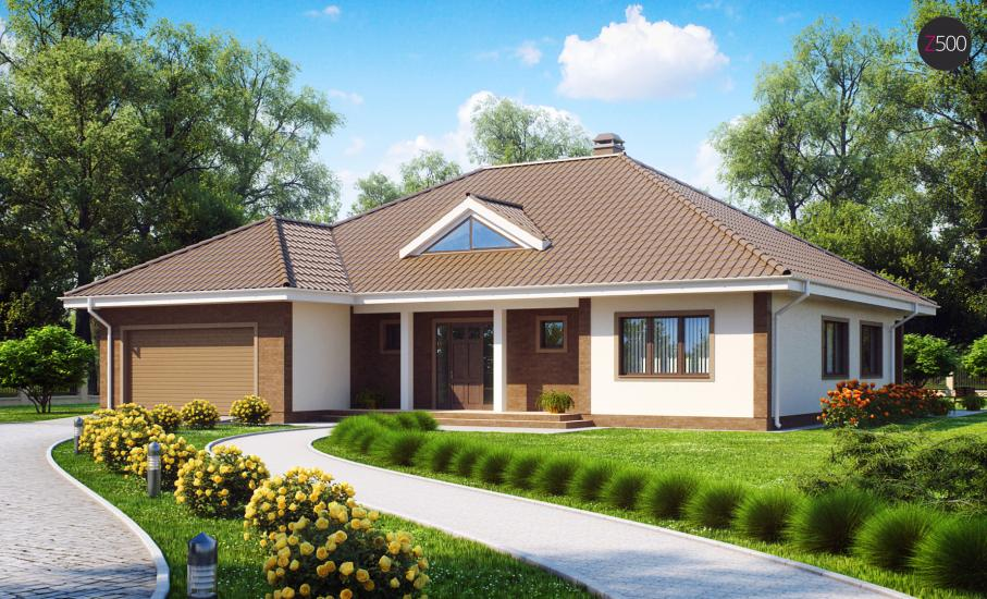 Проект дома Z26 иллюстрация 1
