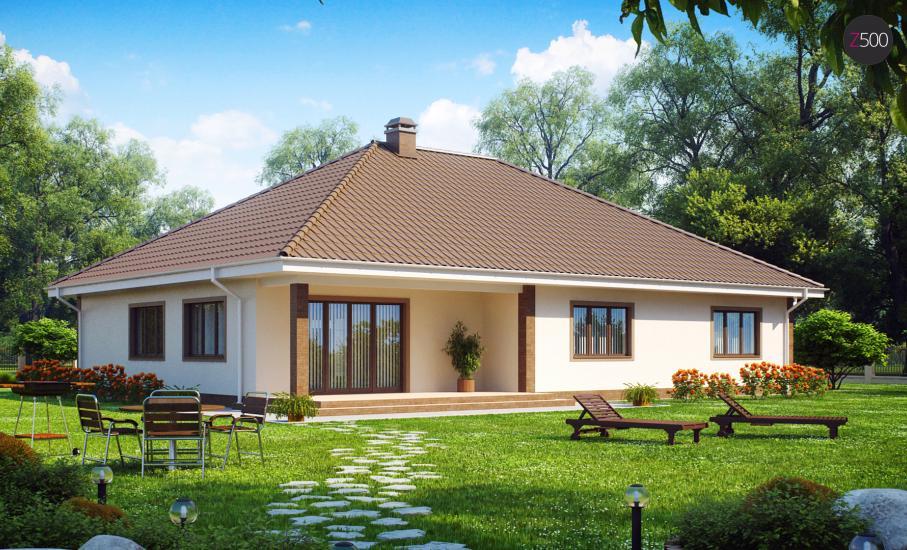 Проект дома Z26 иллюстрация 2