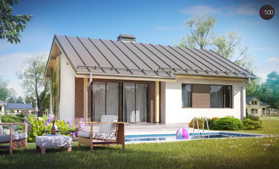 Проект дома Z262 иллюстрация 2