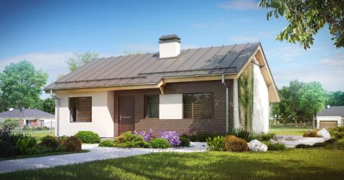 Проект дома Z262 иллюстрация 1