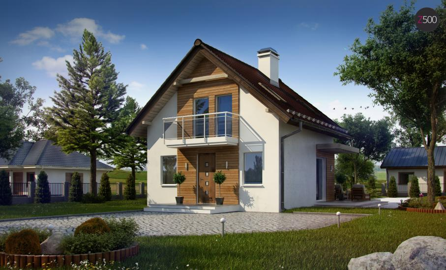 Проект дома Z264 иллюстрация 1