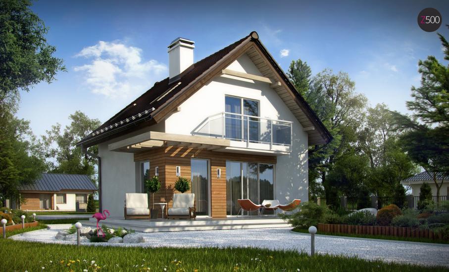 Проект дома Z264 иллюстрация 2