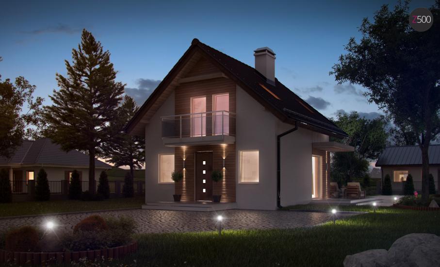Проект дома Z264 иллюстрация 3