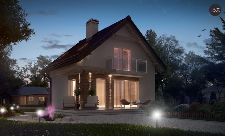 Проект дома Z264 иллюстрация 4