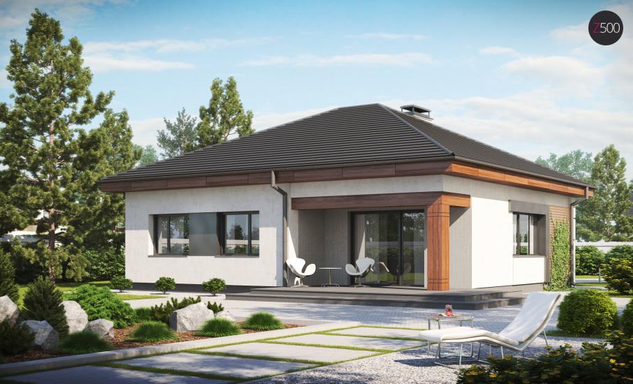 Проект дома Z273 иллюстрация 2