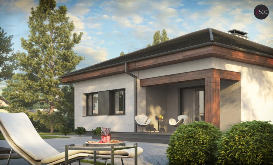 Проект дома Z273 иллюстрация 3