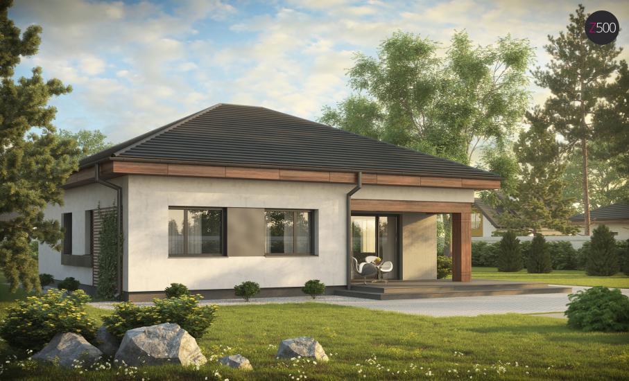 Проект дома Z273 иллюстрация 4
