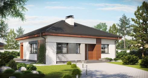 Проект дома Z273 иллюстрация 1
