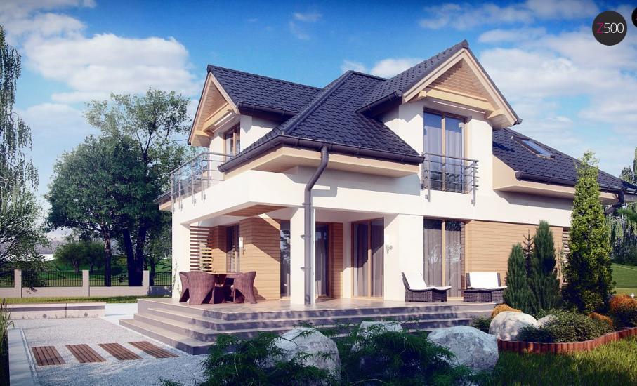 Проект дома Z284 иллюстрация 2