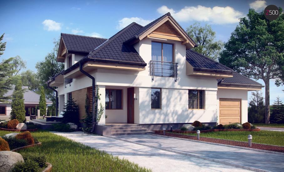 Проект дома Z284 иллюстрация 3