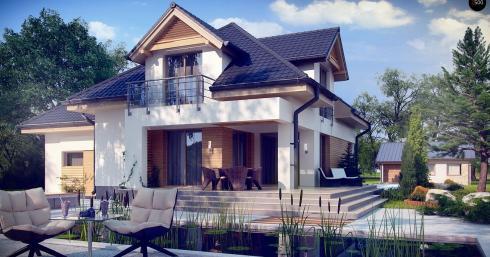Проект дома Z284 иллюстрация 1