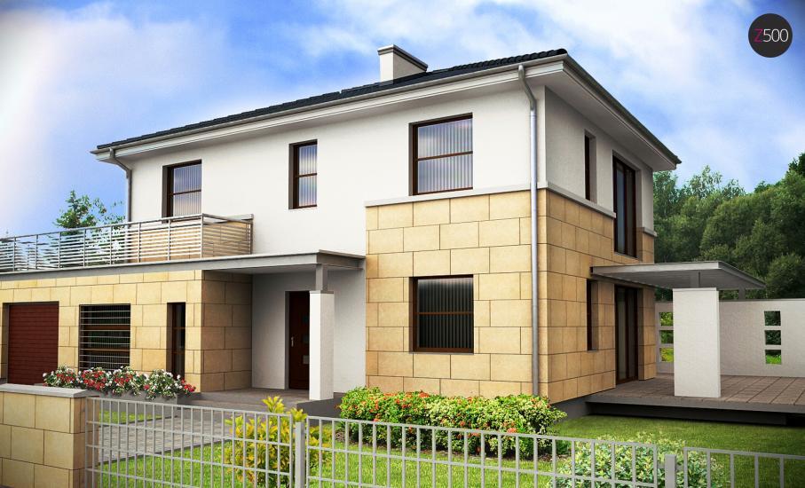 Проект дома Z29 иллюстрация 1