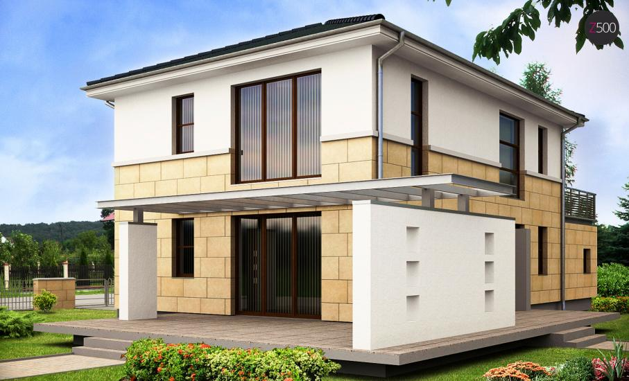 Проект дома Z29 иллюстрация 2