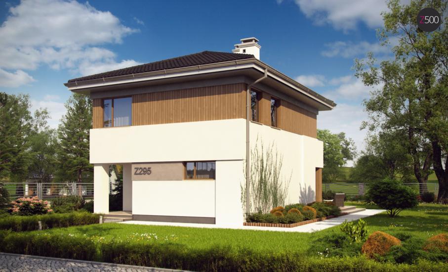 Проект дома Z295 иллюстрация 2