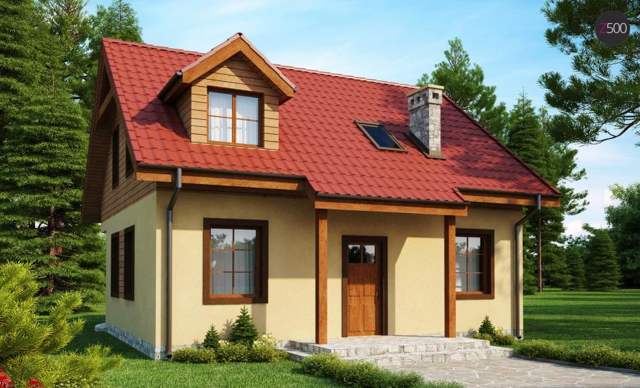Проект дома Z3 иллюстрация 2