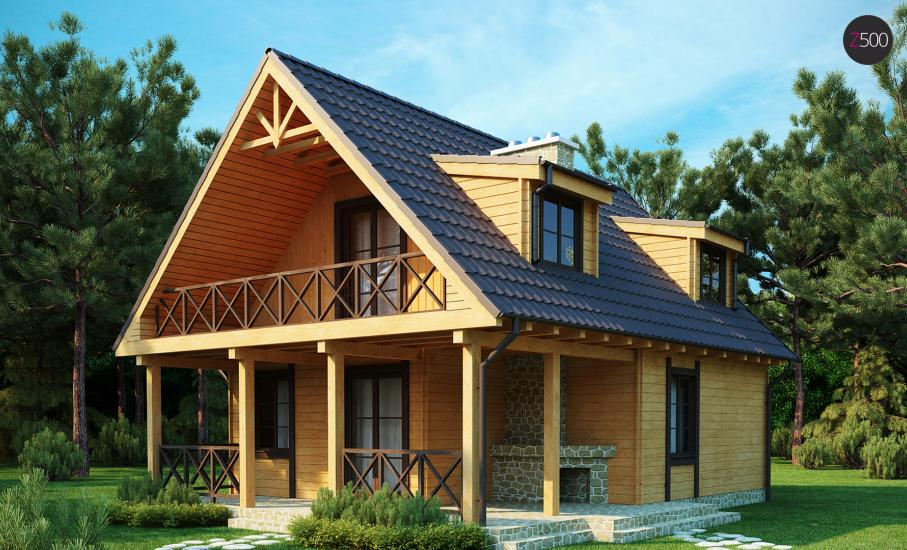 Проект дома Z30 иллюстрация 1