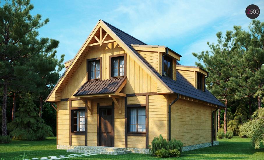 Проект дома Z30 иллюстрация 2