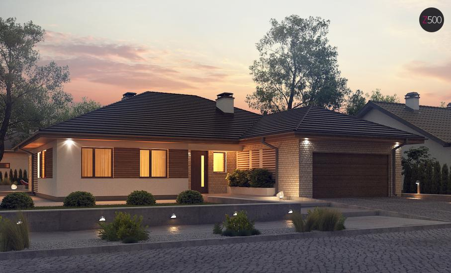 Проект дома Z301 иллюстрация 1