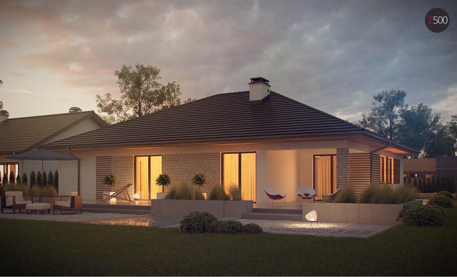 Проект дома Z301 иллюстрация 2
