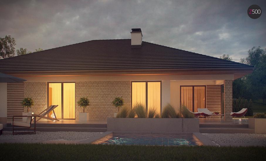 Проект дома Z301 иллюстрация 3