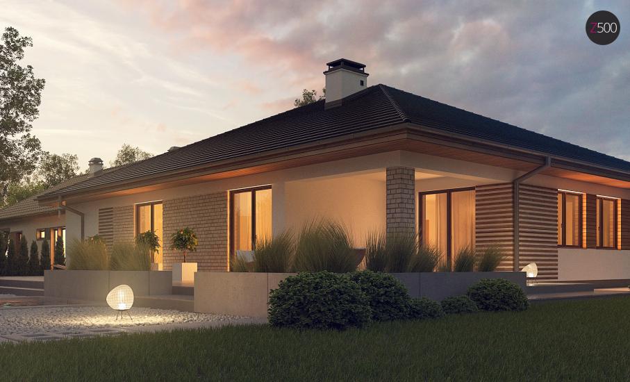 Проект дома Z301 иллюстрация 4