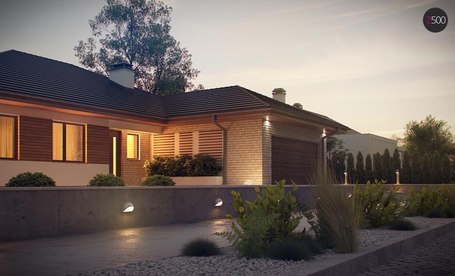 Проект дома Z301 иллюстрация 5