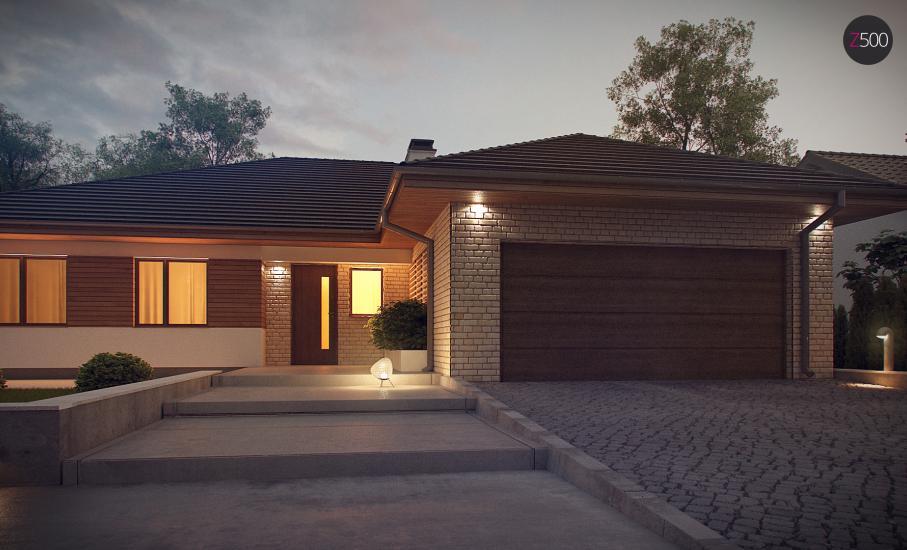Проект дома Z301 иллюстрация 6