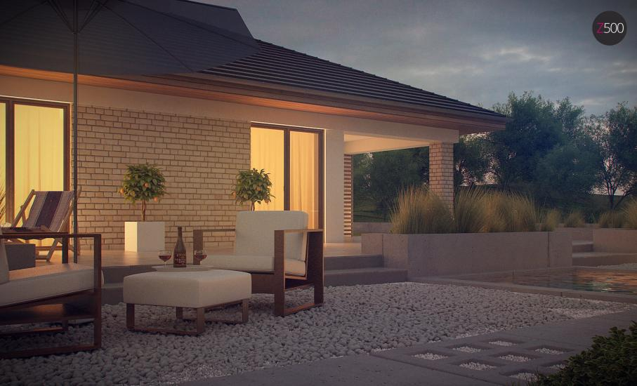 Проект дома Z301 иллюстрация 7