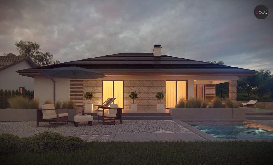 Проект дома Z301 иллюстрация 8