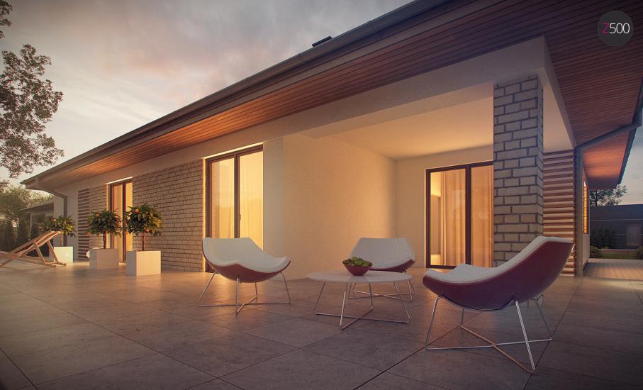 Проект дома Z301 иллюстрация 9