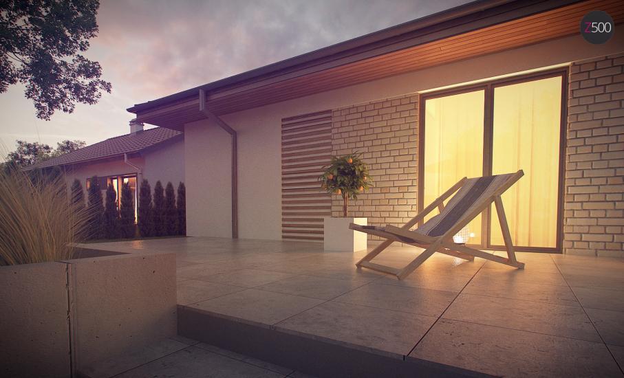 Проект дома Z301 иллюстрация 10