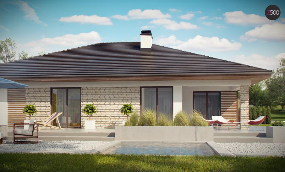 Проект дома Z301 иллюстрация 11