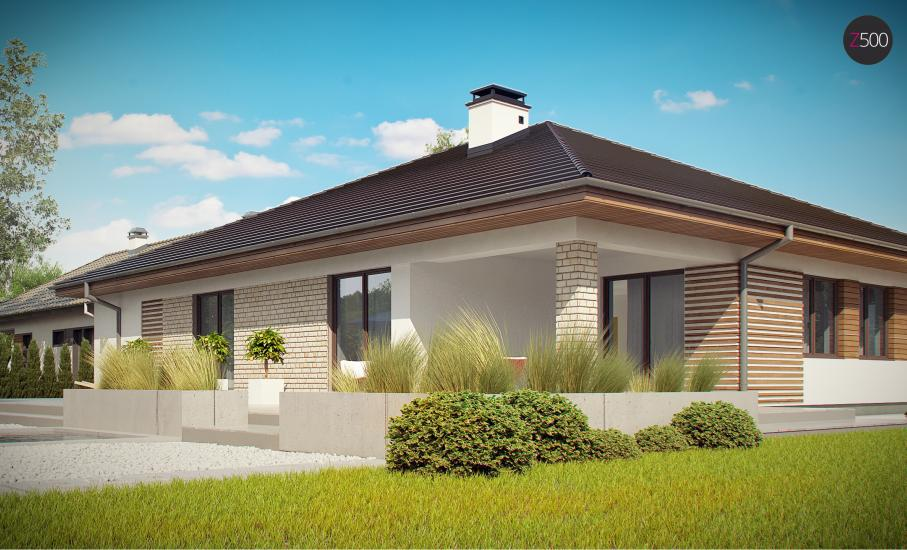 Проект дома Z301 иллюстрация 12