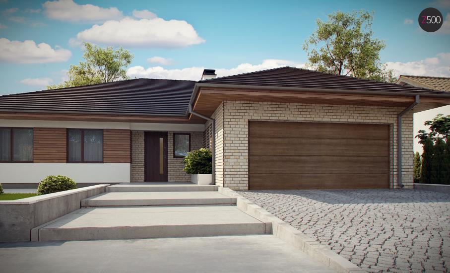 Проект дома Z301 иллюстрация 13