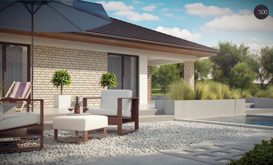 Проект дома Z301 иллюстрация 14