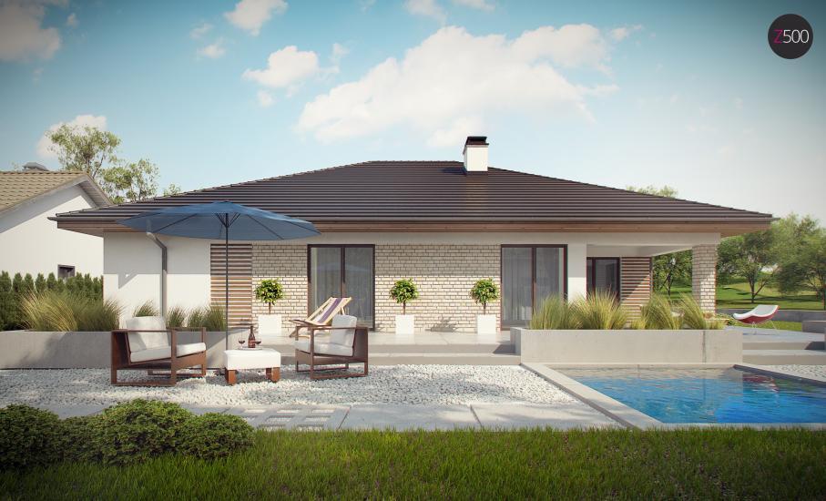 Проект дома Z301 иллюстрация 15