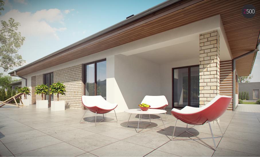 Проект дома Z301 иллюстрация 16