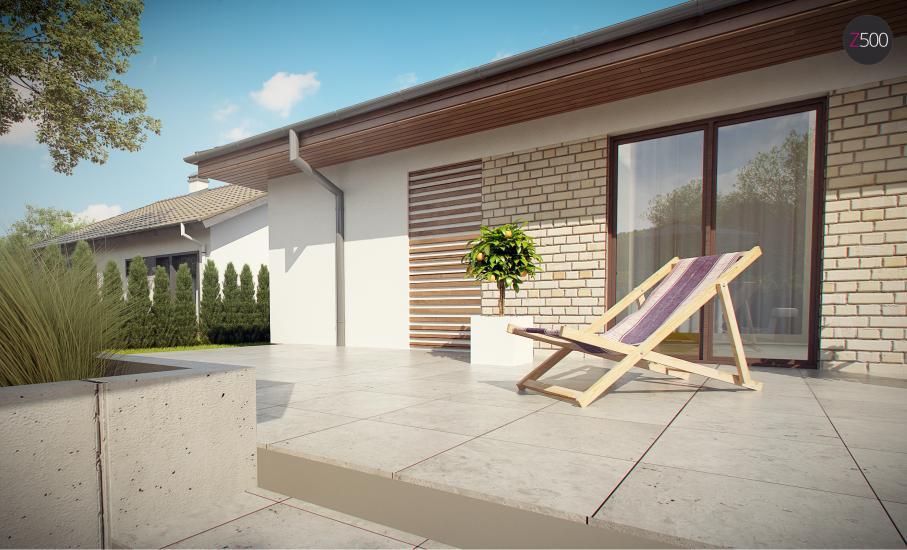 Проект дома Z301 иллюстрация 17