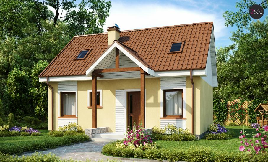 Проект дома Z32 иллюстрация 1