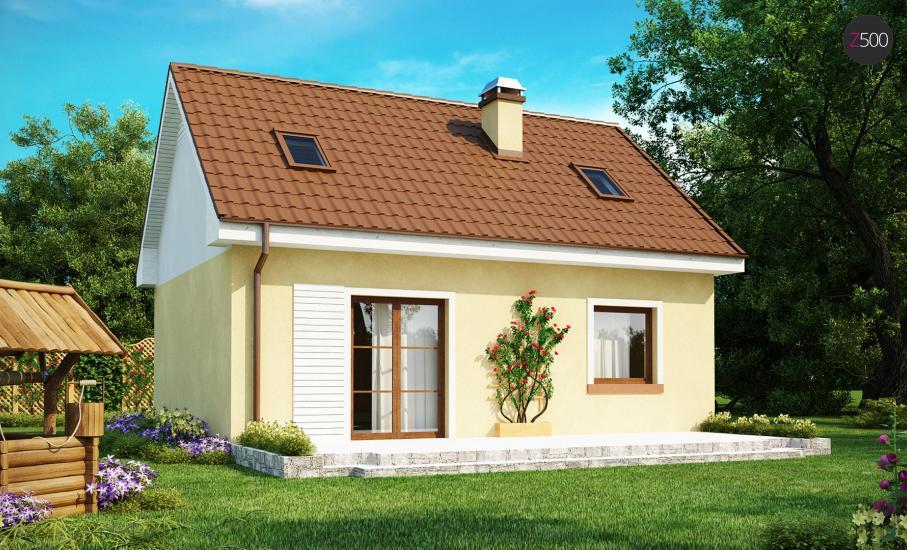 Проект дома Z32 иллюстрация 2