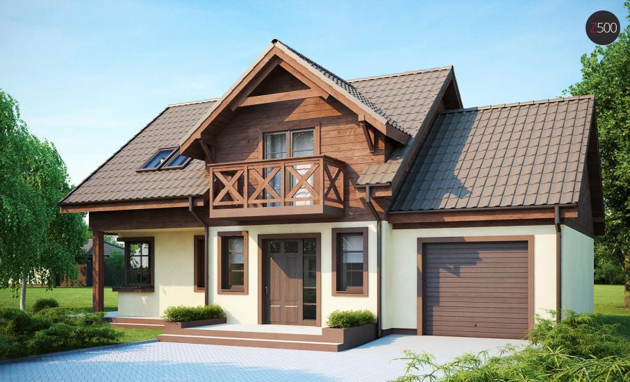 Проект дома Z33 иллюстрация 1