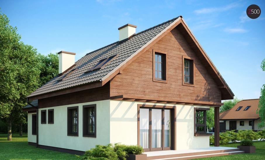 Проект дома Z33 иллюстрация 2