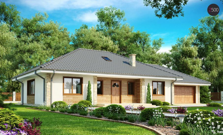 Проект дома Z35 иллюстрация 2