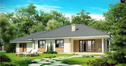 Проект дома Z35 иллюстрация 1