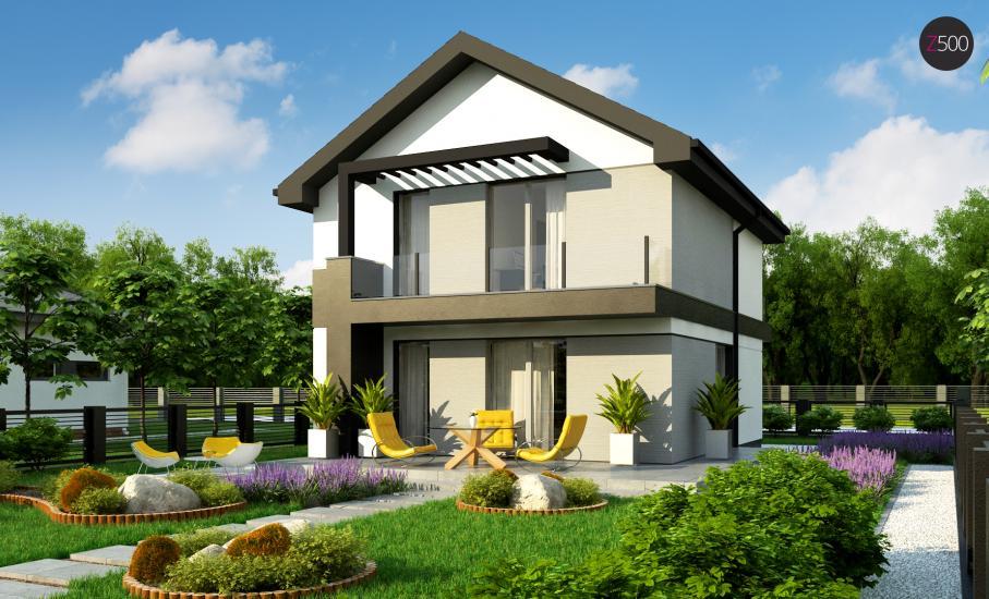 Проект дома Z372 иллюстрация 2