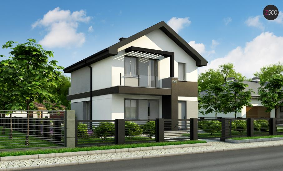 Проект дома Z372 иллюстрация 3