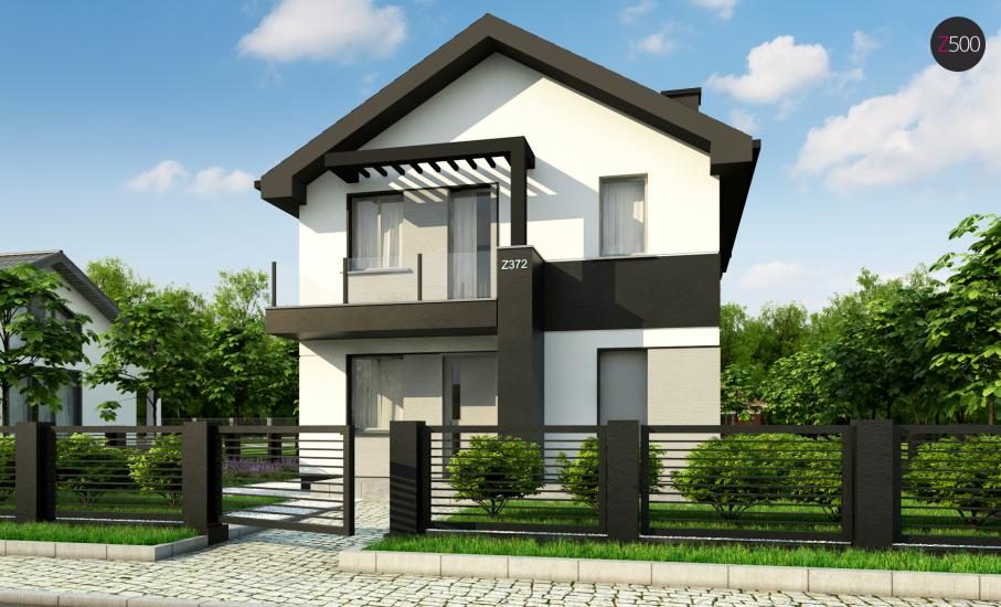 Проект дома Z372 иллюстрация 4