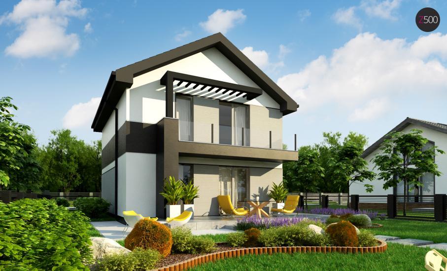 Проект дома Z372 иллюстрация 5
