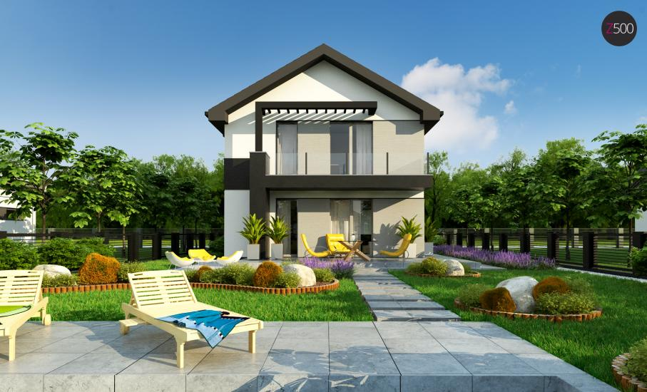 Проект дома Z372 иллюстрация 6