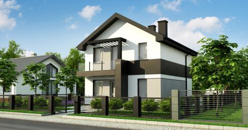 Проект дома Z372 иллюстрация 1